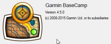 Garmin BaseCamp 4.5