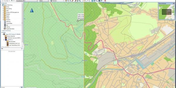 Garmin-GPS - OSM-Freizeitkarte Kontrast erhöhen für Garmin-GPS