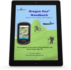 Oregon 6 Handbuch auf Tablet oder iPad