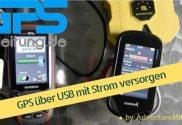 GPS über USB mit Strom versorgen